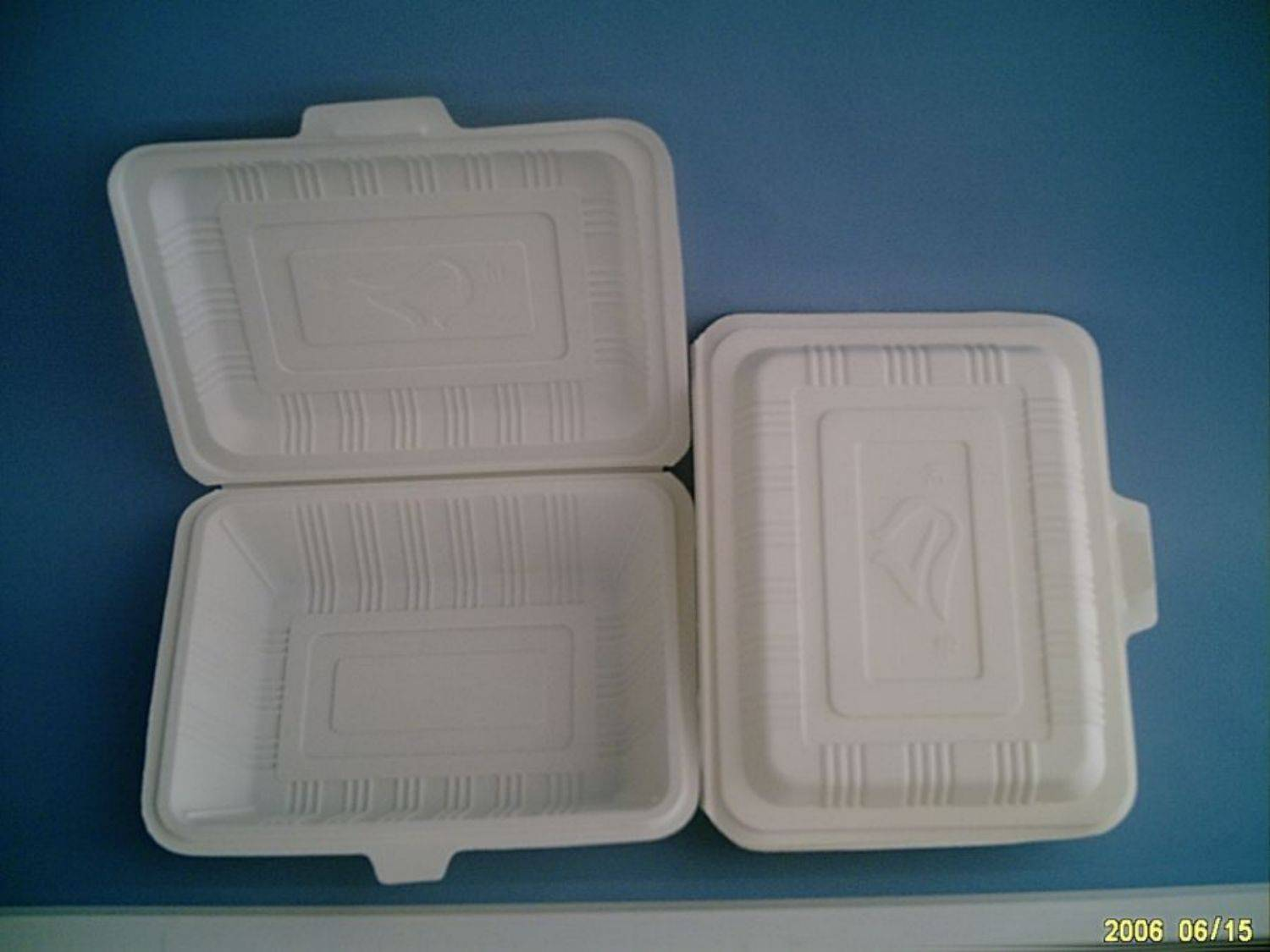degradable food plastic box