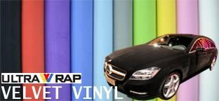 Ultrawrap velvet wrapping vinyl