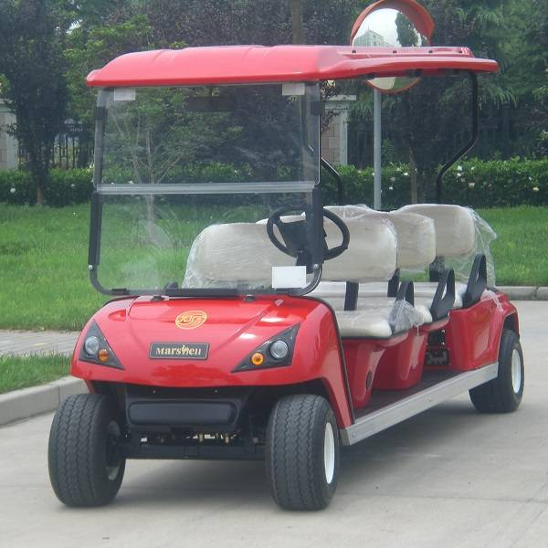 6 seater electric golf buggy by Marshell