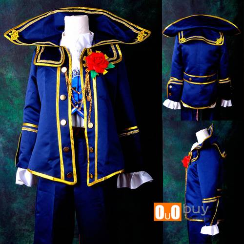 Selling Vocaloid Kaito Demonization Lolita Cosplay Costume