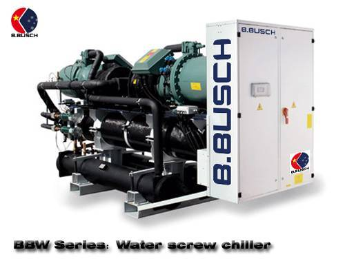 BUSCH ice water chiller for cooling of synthetic fiber