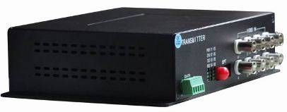 8 Channels BNC To Fiber Video Converter