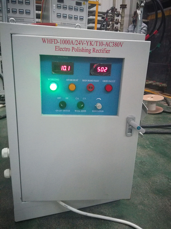 Electro polishing Rectifier for Stainless Steel