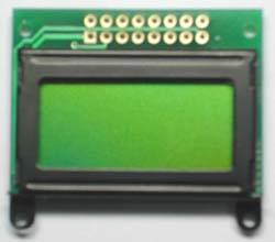 Sell STN yellow,8x2 lines,character lcd module ,cob