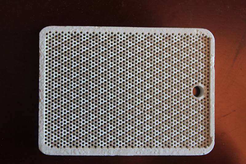 infrared gas honeycomb ceramic plate