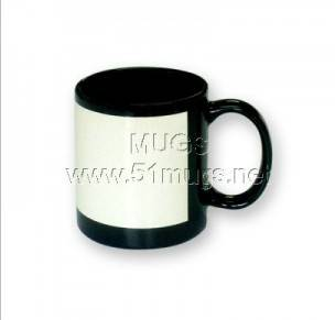 11oz Black Coated Mug