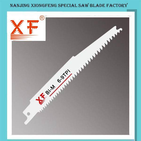 S2345X Bi-Metal Reciprocating Saw Blade for Wood with Nails