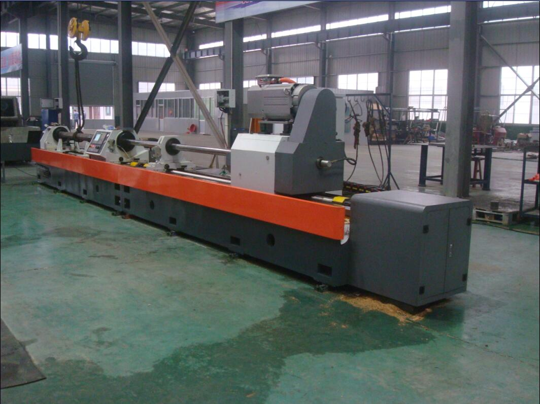 deep hole skiving roller and burnishing machine