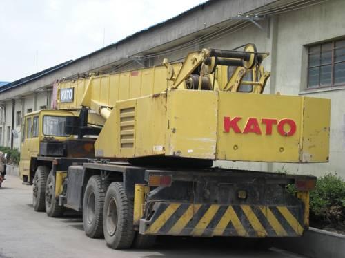 USED KATO NK350E MOBILE CRANE,used truck crane