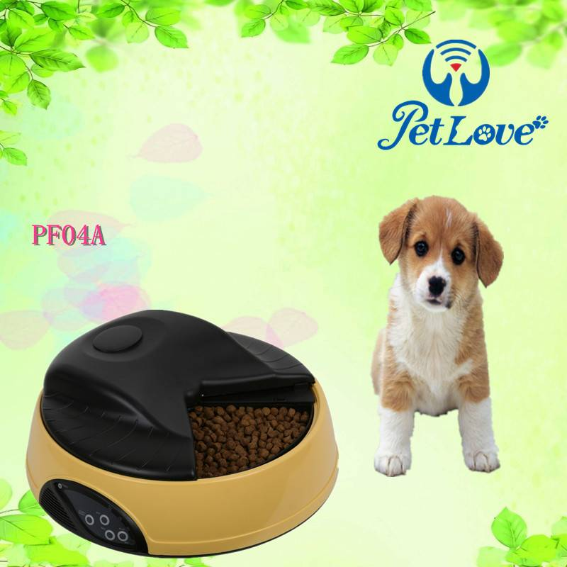 4 Meal Automatic Dog Feeder