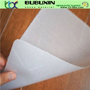 Super low temperature hot melt adhesive sheet for heel counter