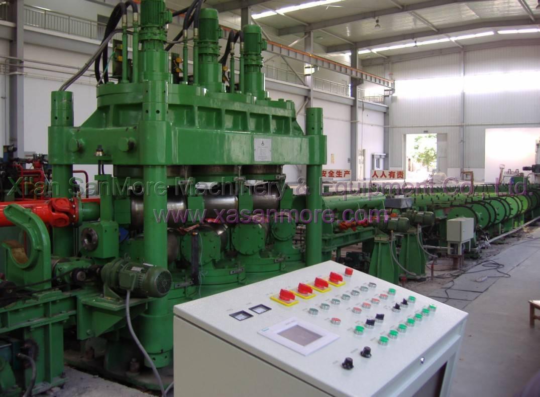 SMV7 Seven Roll Titanium Bar Straightening Machine