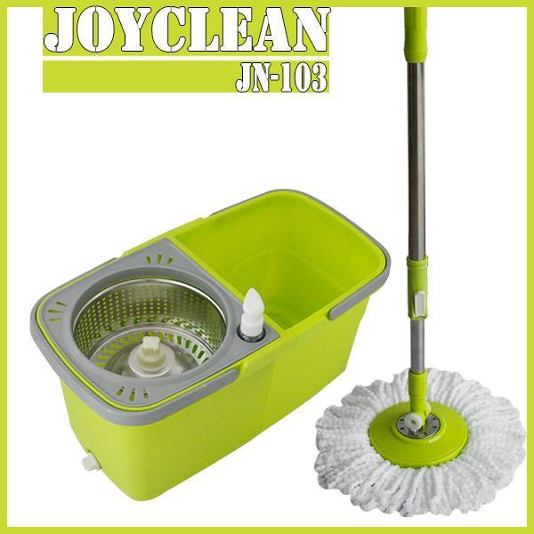 Joyclean Twin Bucket Spin Mop for Home Cleaning