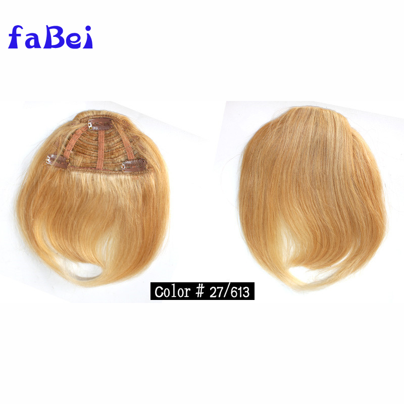 Factory Price High Quality Brazilian Hair Fringes Human Hair Bangs