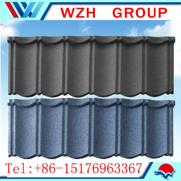 stone coated metal roof tile , roofing tile stone coated From China supplier
