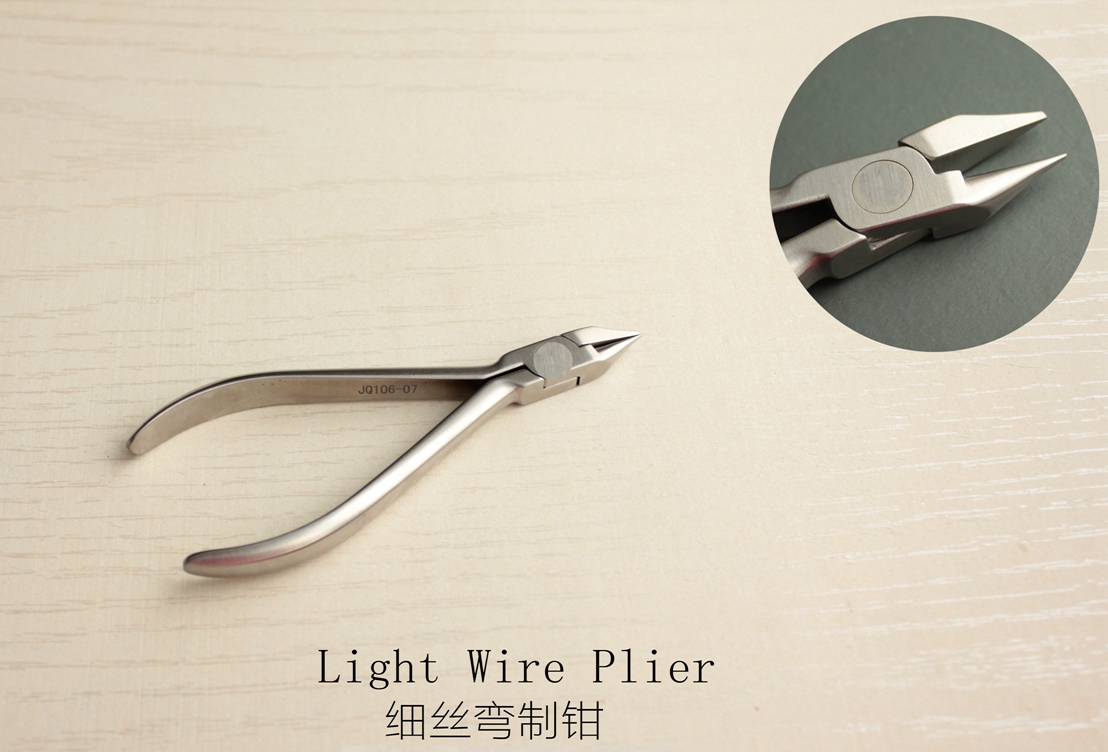 Orthodontic Plier- dental instruments-Light Wire Plier