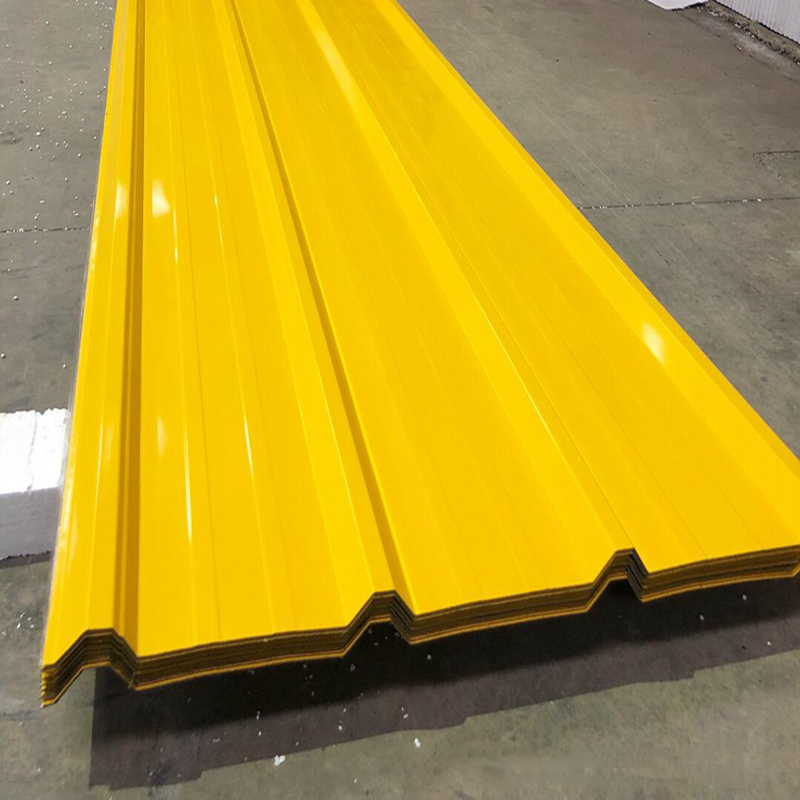 0.171050mm Color Coated T Profiled Roofing Sheets in Africa