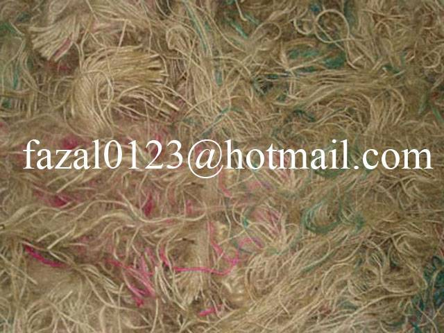 thread waste /Jute Yarn Waste