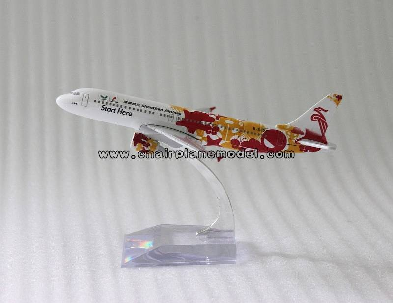 airgift A320 Shenzhen Airlines metal plane model