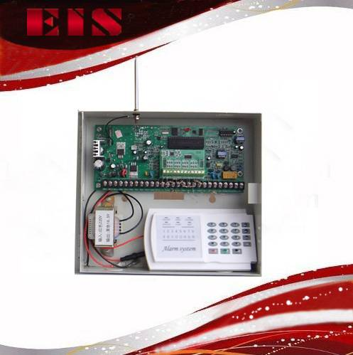 wireless and wired alarm control panel 16 wireless and 16 wired alarm zones