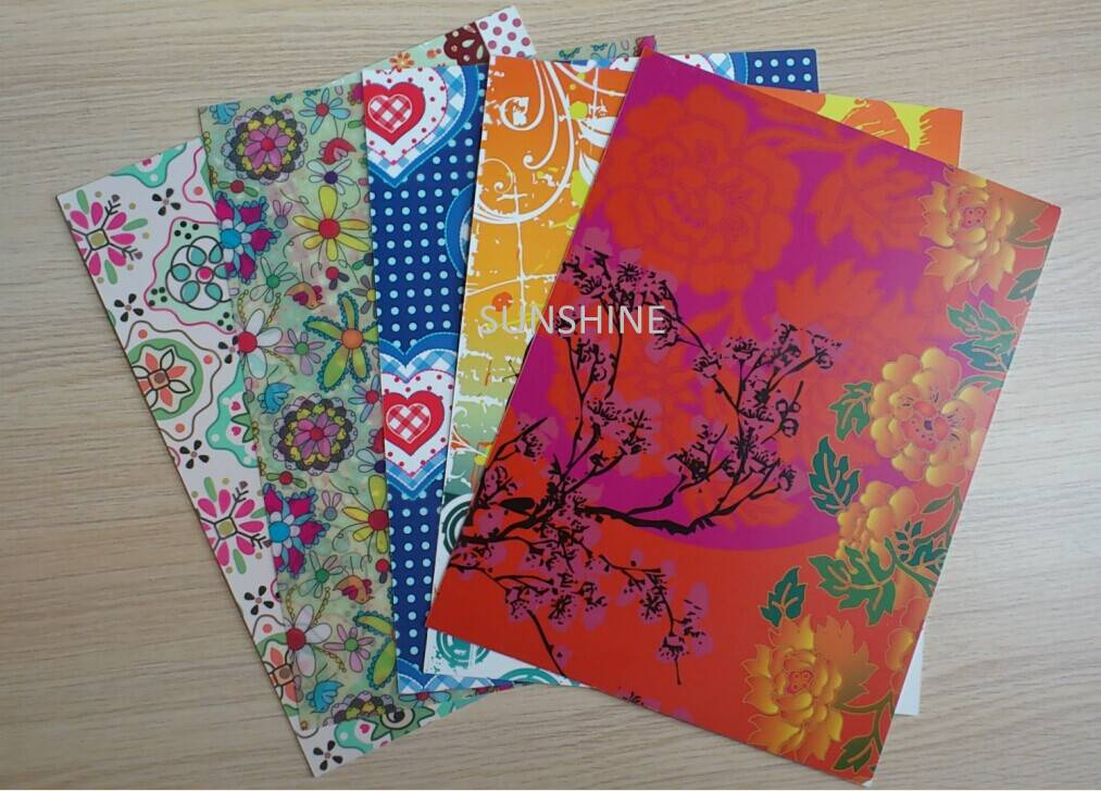 supply SGS eco-friendly plastic pp notebook cover/divider