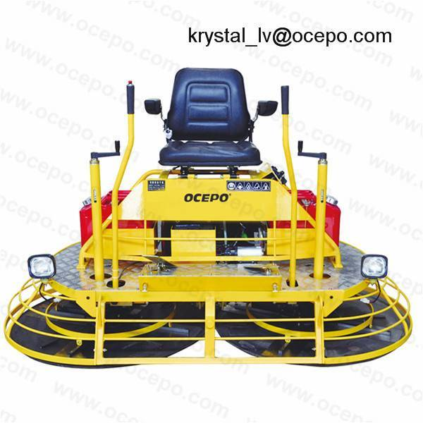 Driving Concrete Trowel Machine