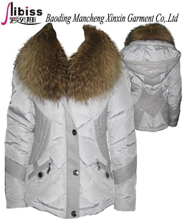 Lady down jacket