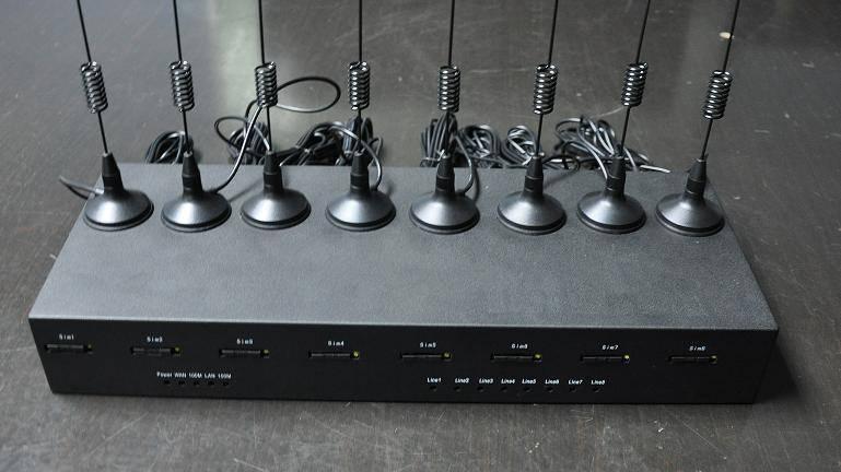 SinoV-X600 8 PORT GSM VOIP GATEWAY, IP PBX SYSTEM
