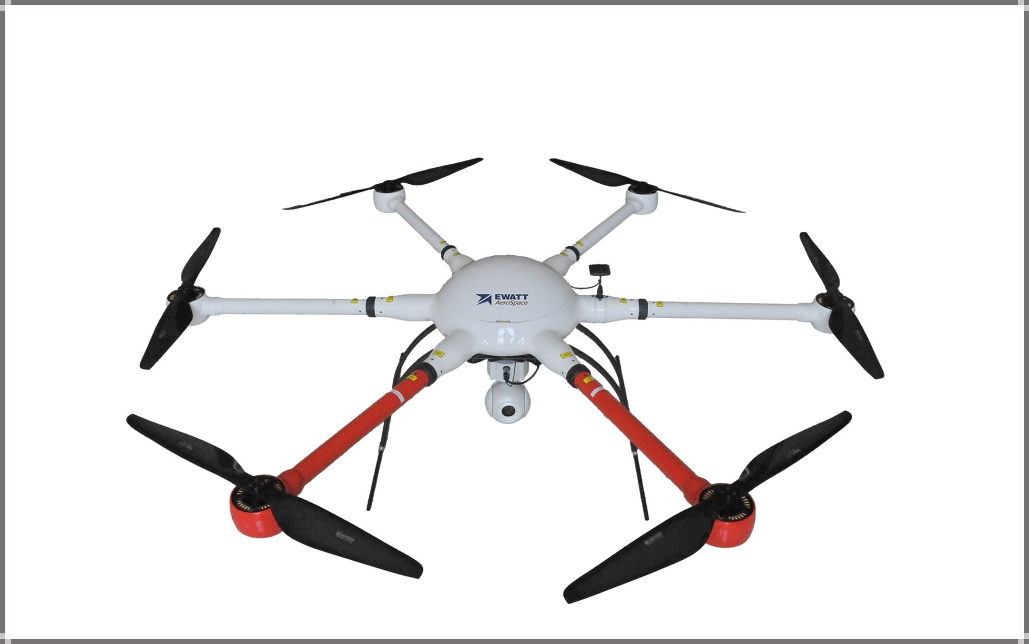 EWZ-D6 Long-endurance Hexacopter