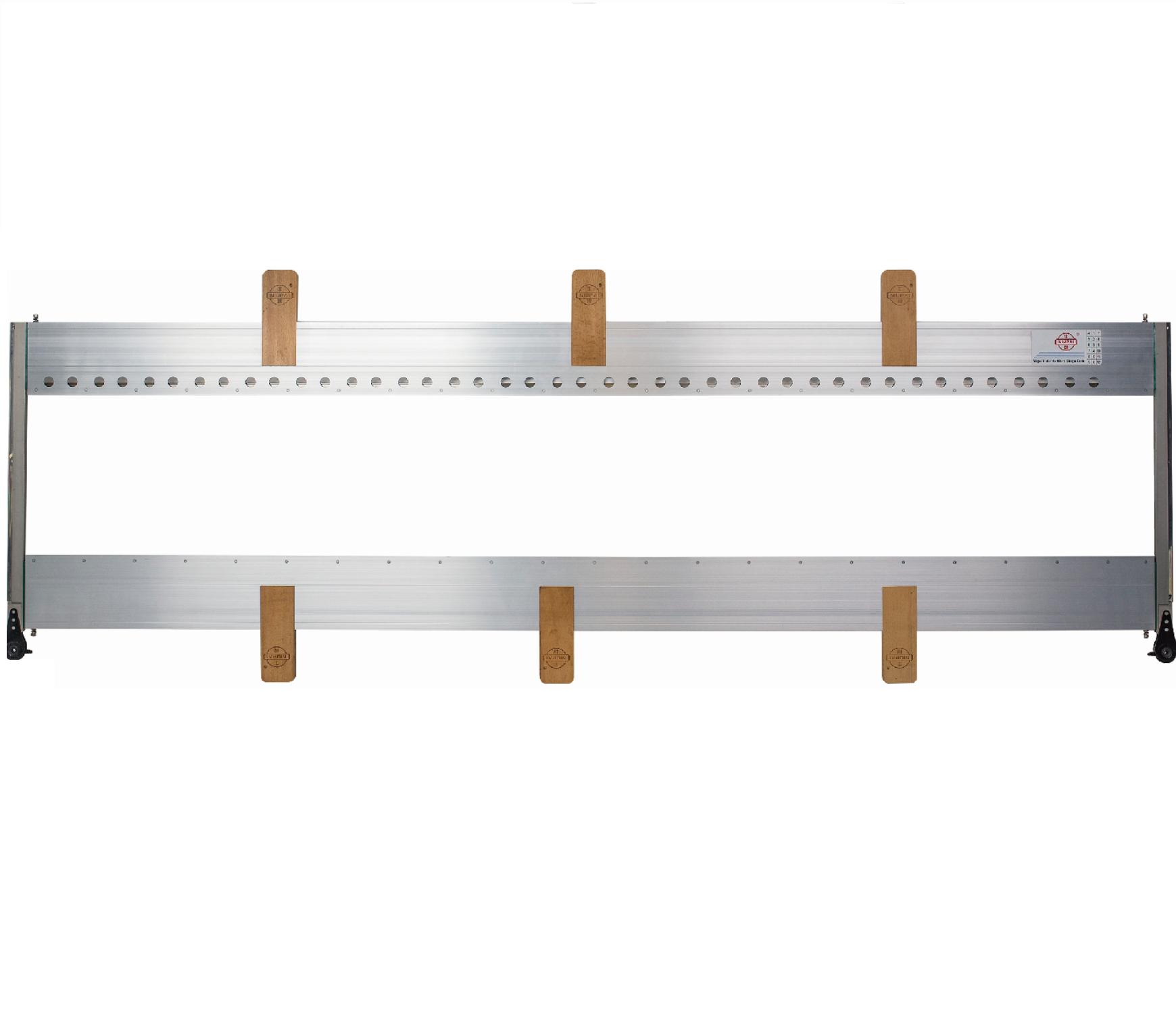 High strength aluminum heald frame