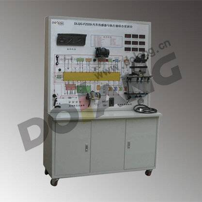 didactic Electronically controlled fuel injection system sensor actuator experiment bench DLQC-E-5