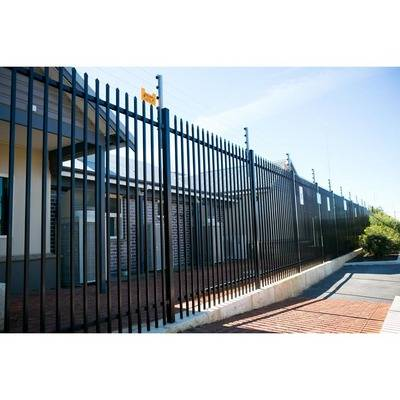 Powder Coated Pregalvanized Security Garrison Fencing Panel