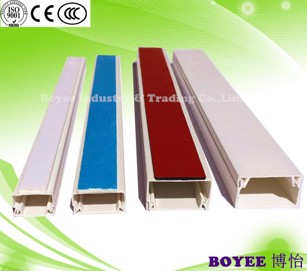 PVC Trunking with Adhesive / Electrical Trunking / cable Trunking