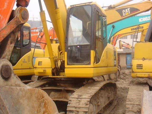 Used Komatsu PC 220 excavator