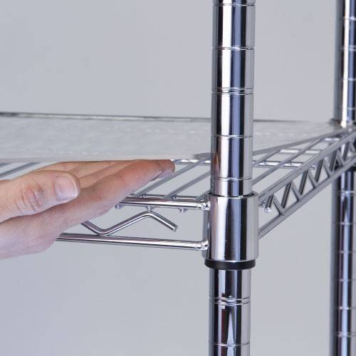 selling storage system chrome wire shelf