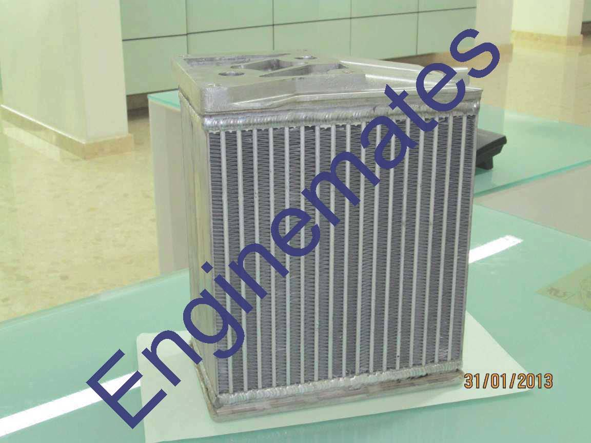 Oil Coolers for Defence Truck