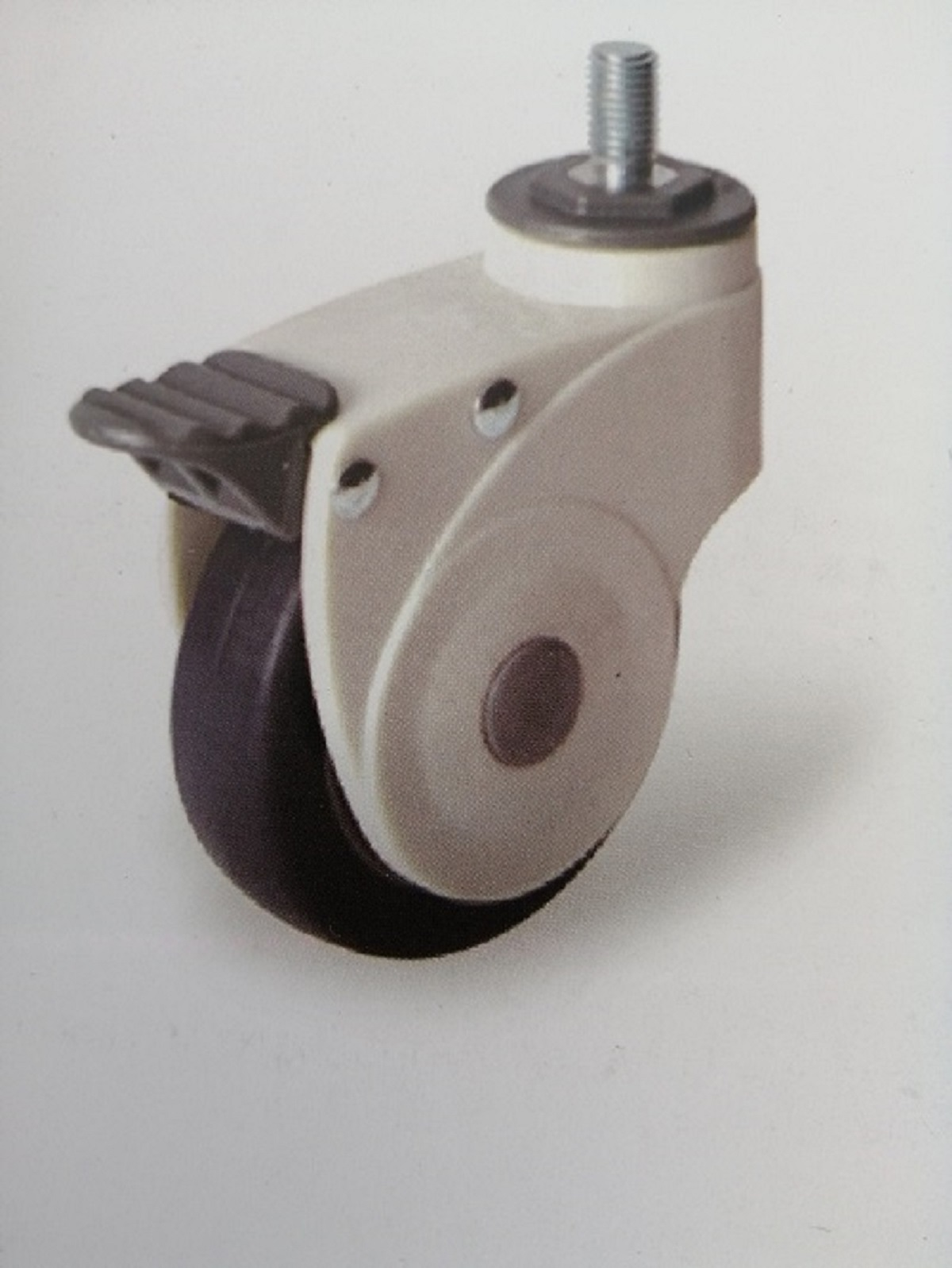 31 series of Full -plastic single plate medical casters
