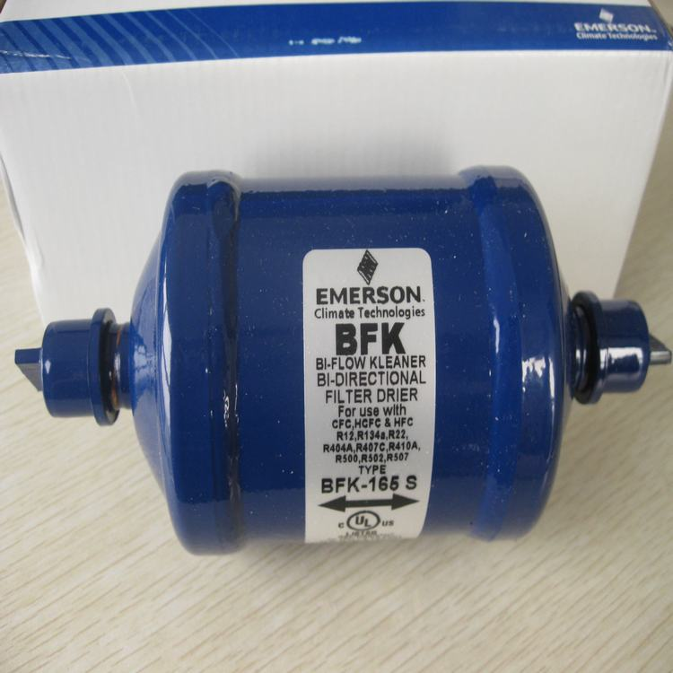 EMERSON types BFK052/083/164/165S Bi-flow Filter Driers