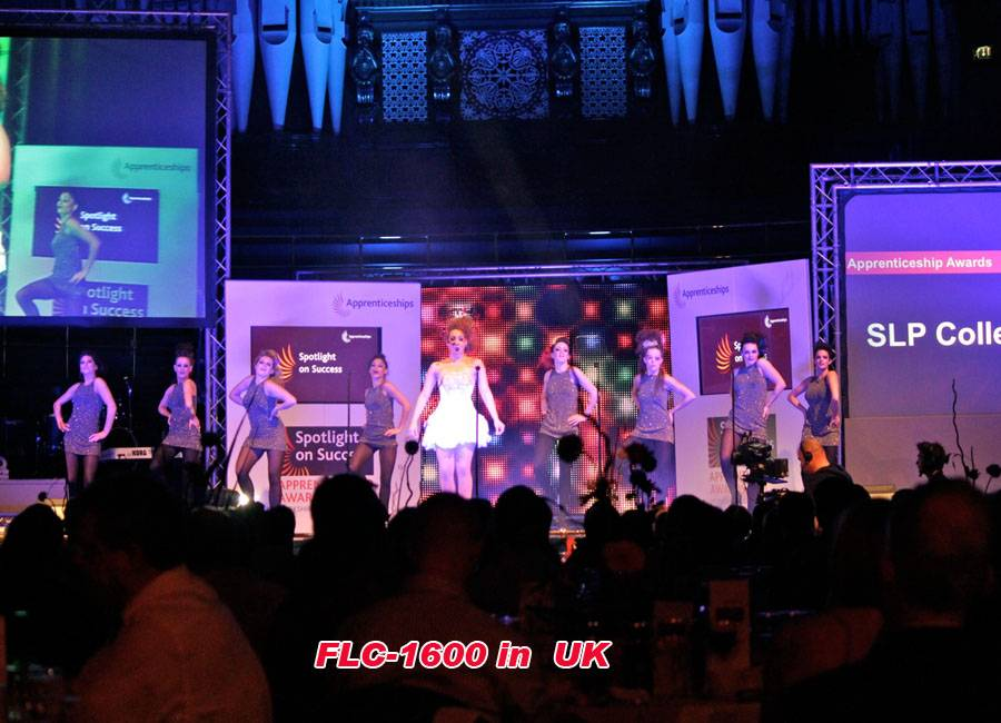 Flexible LED Curtain P25mm for live show in UK