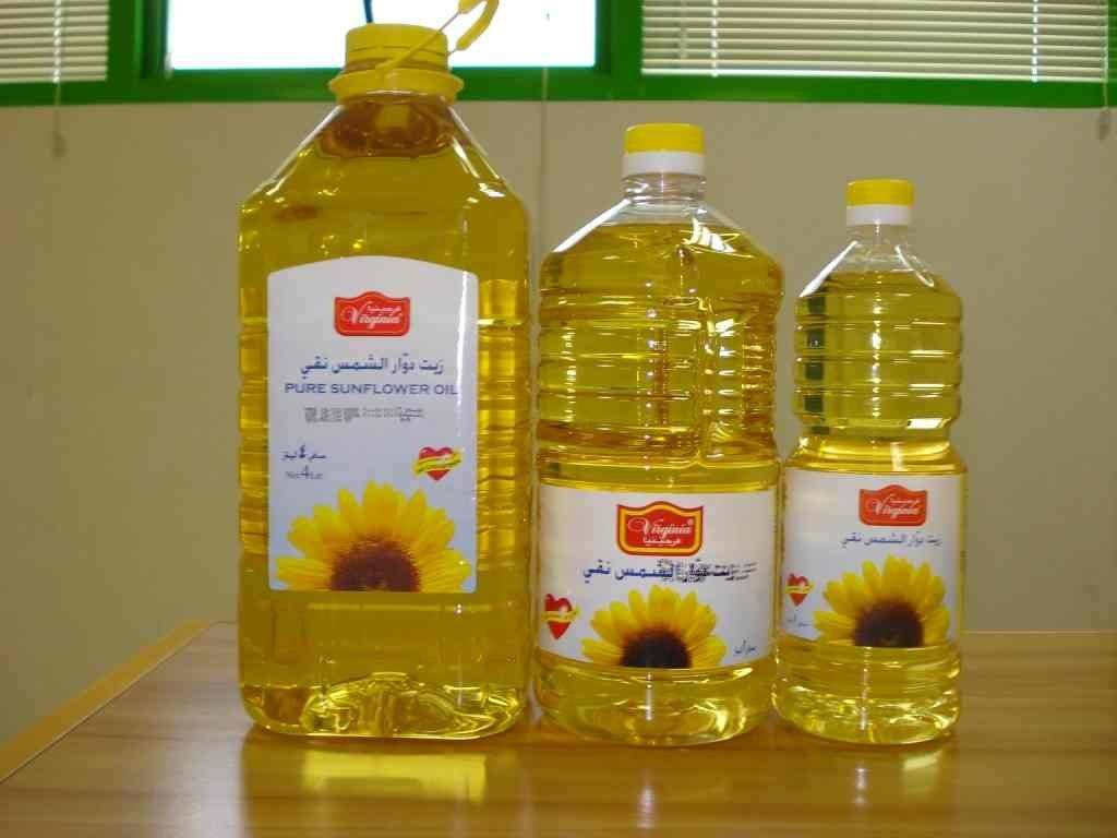 Pure Highly Refined Sunflower oil