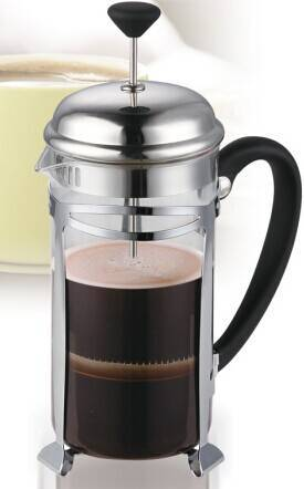 2014 New 304# Stainless steel french press coffee maker in 350ml