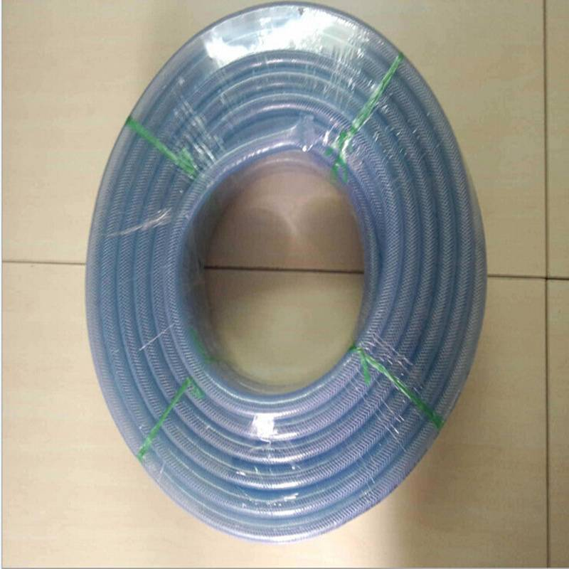 PVC clear garden reinforced hose fiber reinforced hose water hose for home and garden