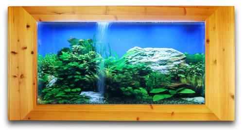 wall mounted aquariums