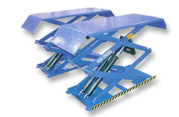 Small platform profile scissor lift