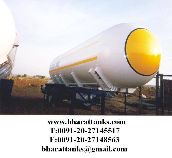LPG semitrailers