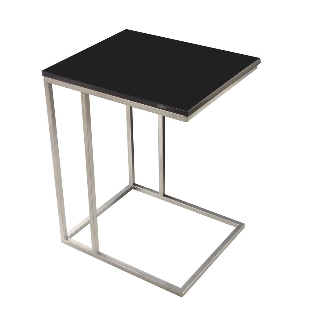 DaoHeng Side Table Made of Metal and Wood
