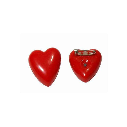 Heart-shaped Flashing Badge