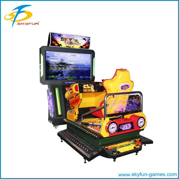 Coin operated shooting machine