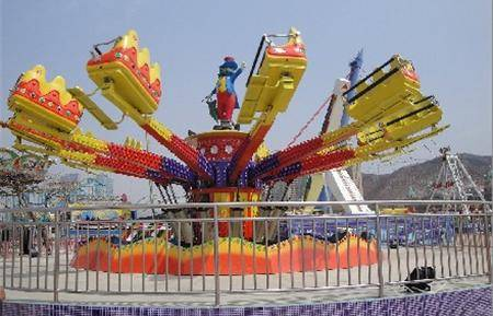 Exciting Jump A exciting rotating and up and down ride amusement Park rides equipment