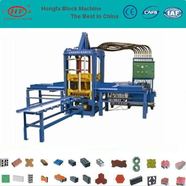 QTF3-20 color paver forming machine
